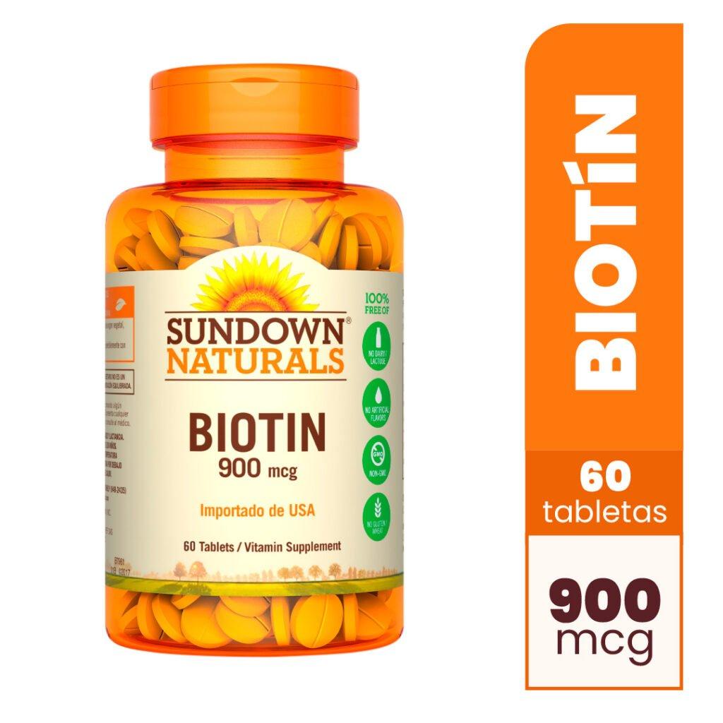 Biotin 900 mcg x 60