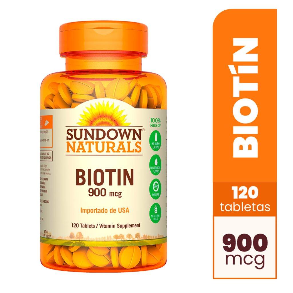 Biotin 900 mcg x 120