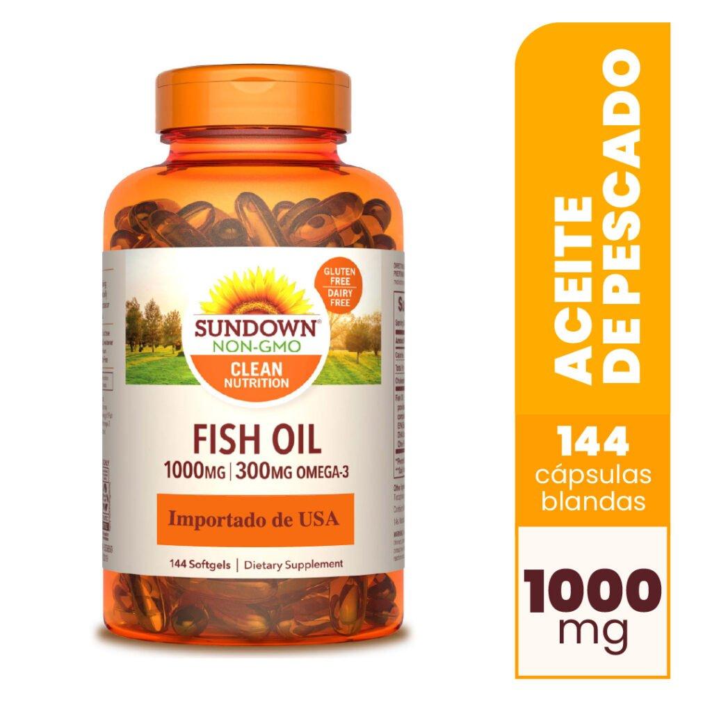 Fish Oil 1000 mg 144 Cápsulas