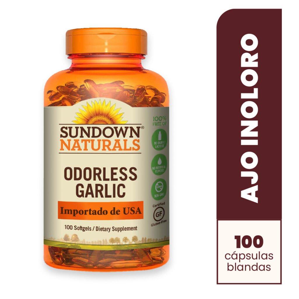 Garlic Odorless x 100  Softgels
